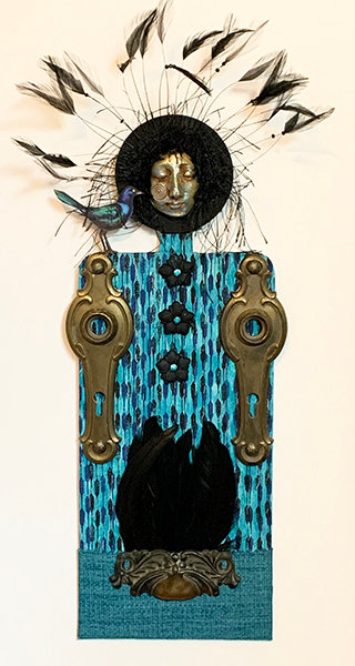 """""""She Who Greets Grackle"""" Muse"""