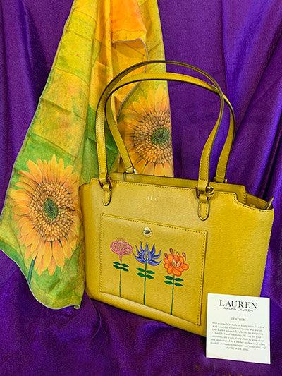 Lauren Garden Leather Handbag