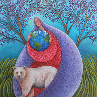 """Earth Prayer: Protection"" - Archival Print"