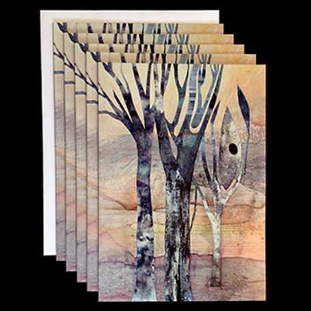 """""""Serenity"""" Set of 5 Cards"""