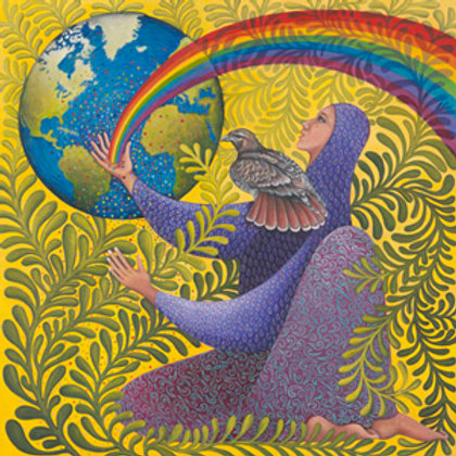 """Earth Prayer: Vigilance"" - Archival Print"