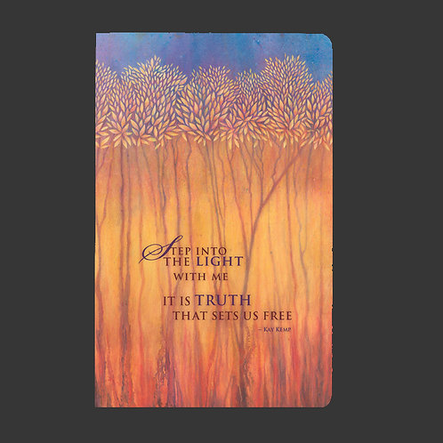 """Step Into The Light"" Soft Cover Journal"