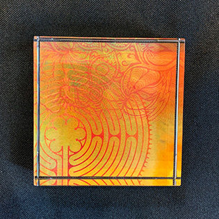 """Labyrinth"" Paperweight"