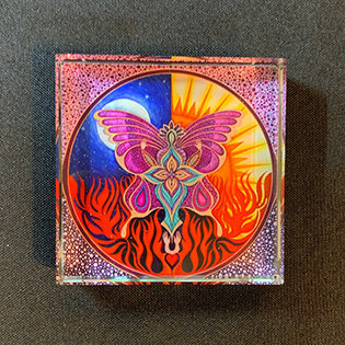 """""""Transcendence"""" Paperweight"""