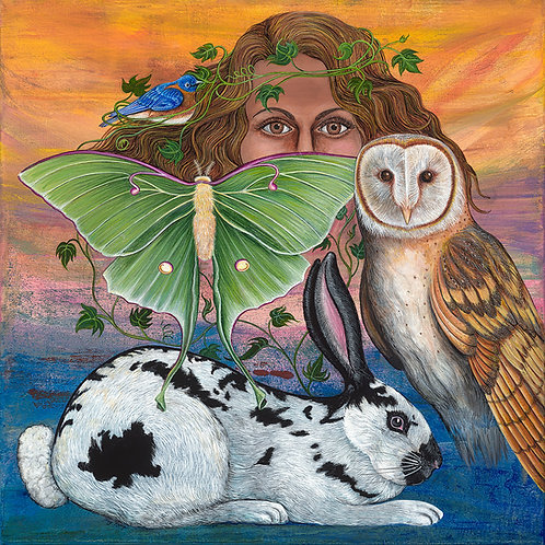 """""""Artemis Unites"""" Original Painting"""