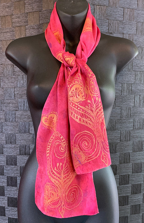 """Love is in the Air"" Silk Scarf"