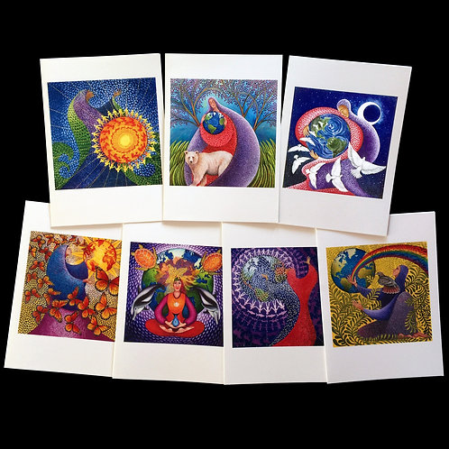 """Earth Prayer"" Set of 7 Cards"