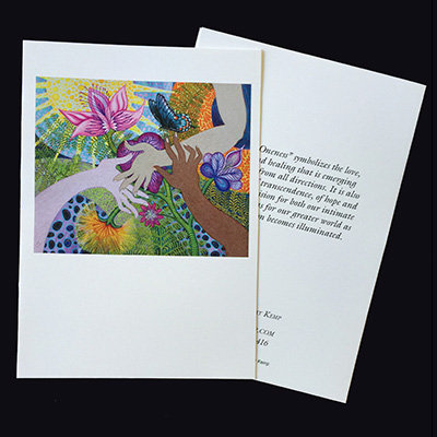 """""""Spirit of Oneness"""" Set of 5 Cards"""