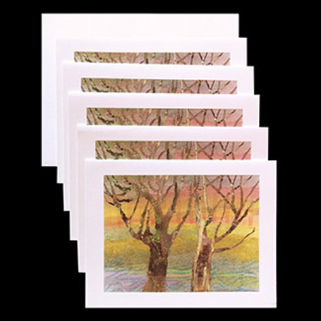 """Magical Forest"" Set of 5 Cards"