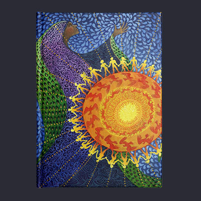"""""""Earth Prayer: Radiance"""" - Hard Bound Journal"""