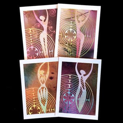 """Path Prayer"" Set of 4 Cards"