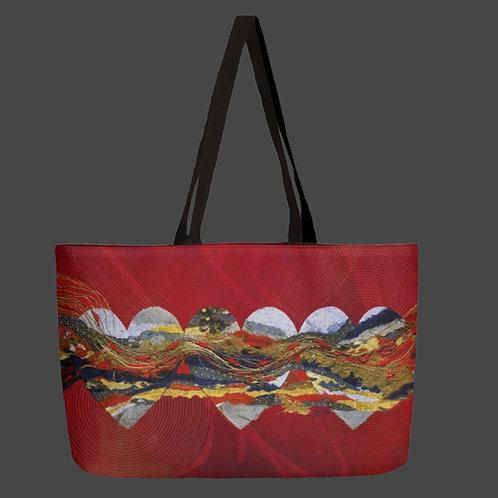 """""""Love Flows"""" - Weekender Bag"""