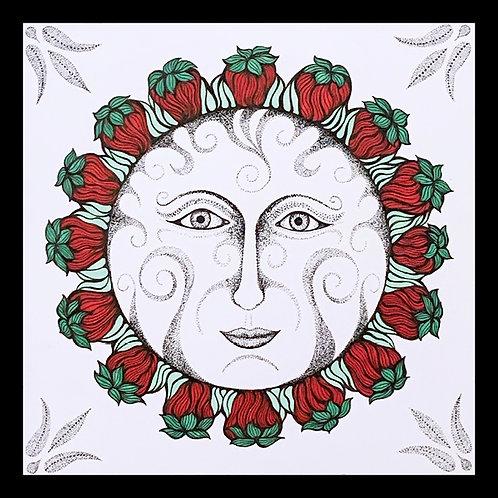 """Strawberry Moon"" Original Art"