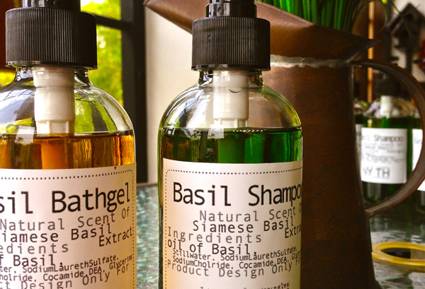 ONLY for Superior / Basil Amenities Set