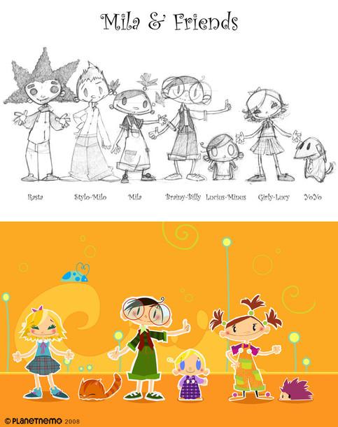 MILA & FRIENDS - Series Line-up