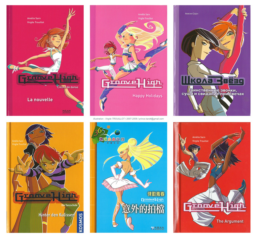 WORLDWIDE COVER SAMPLES ; French, English, Russian, German, Chinese...