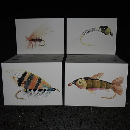 """4 Note Cards and envelopes- """"The Great Impostors"""" (A)"""