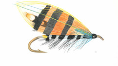 Black Ranger Salmon Fly