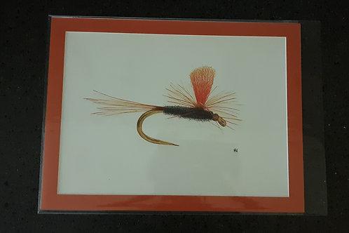 The Hi-Viz Parachute Adams Fly Giclee Print