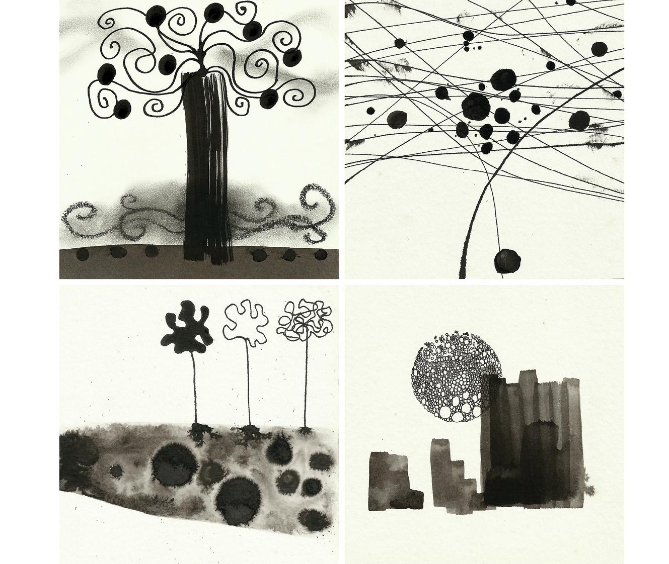 ilustrações em nanquim