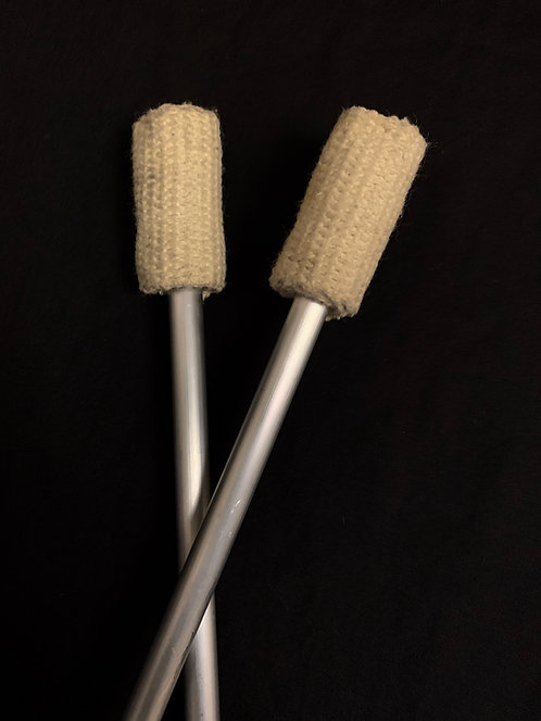 Hollow Fire Eating Wands (Pair)