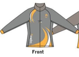 Midas - Tracksuit Top with Individual Name