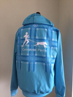 Canicross hoodie new back 2
