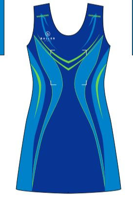 Saracens Regional Netball Dress - Senior/U19