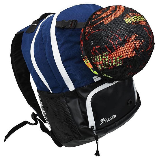 Back pack with ball netting