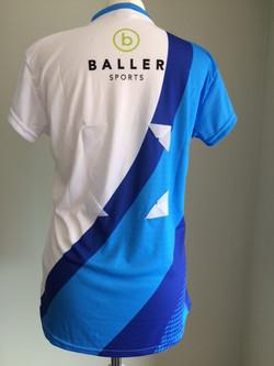 Netball short sleeve top back 2