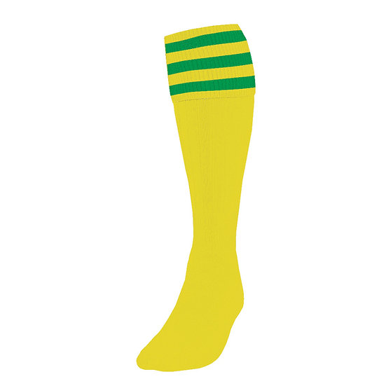 PRECISION 3 STRIPE FOOTBALL SOCKS