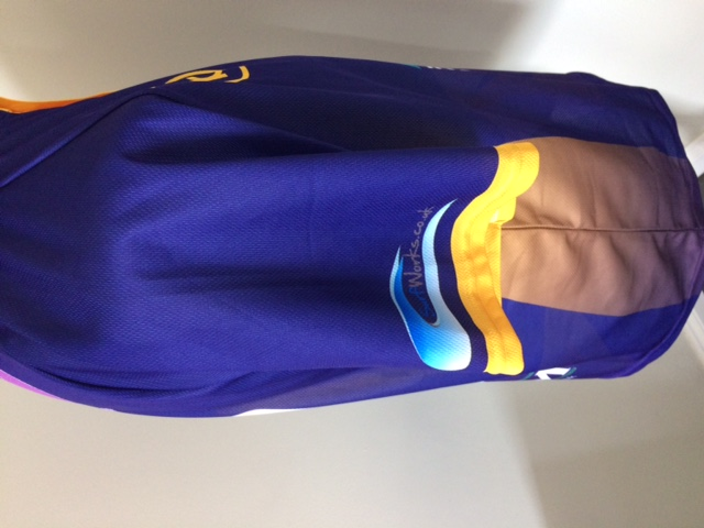 Cricket Top - Ad Blue Side