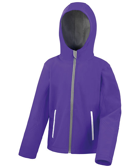 SOFT SHELL JACKET JUNIOR HOODED  - BRYMBO NC