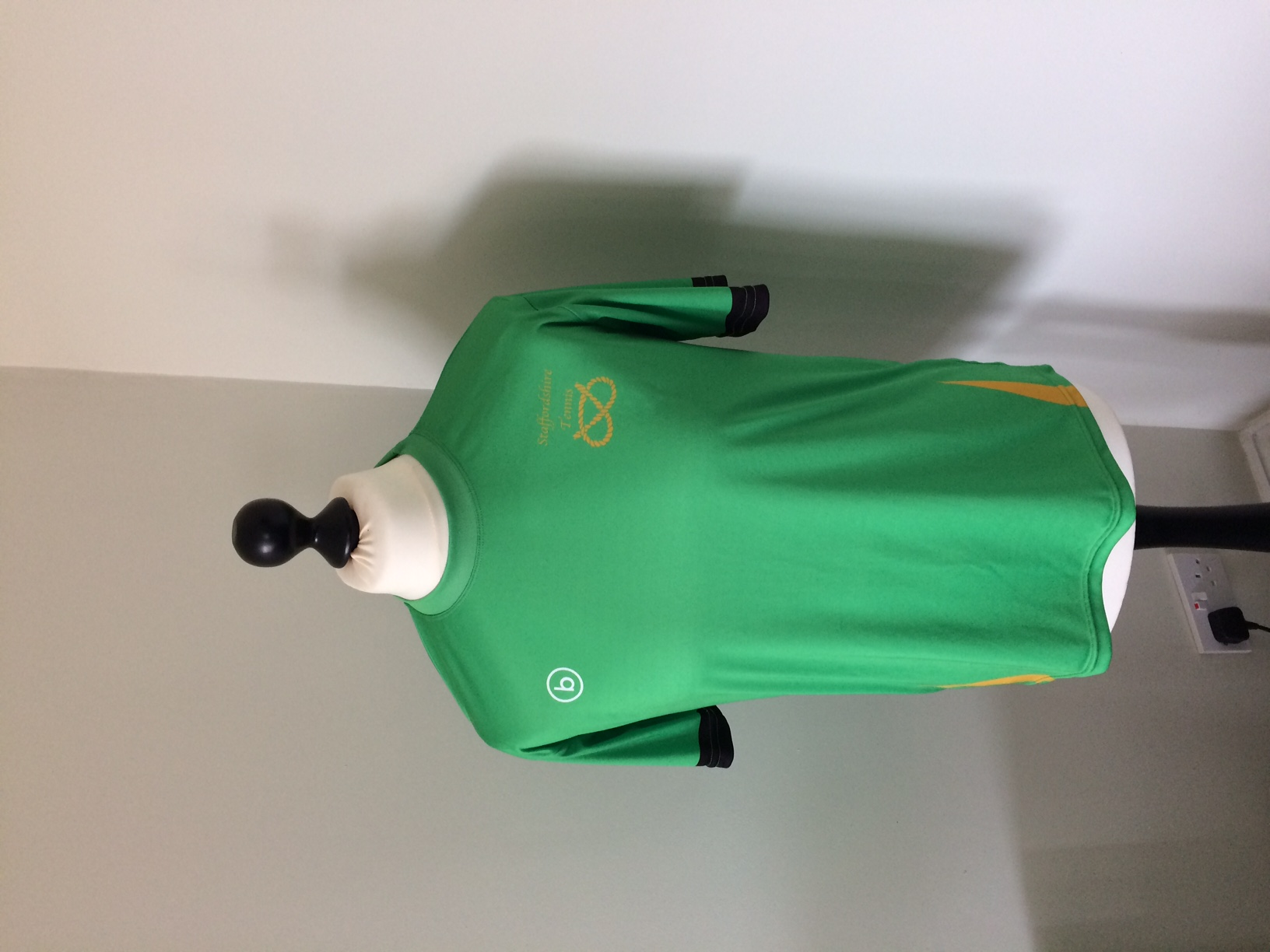 Green performance shirt