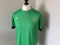 Green performance shirt