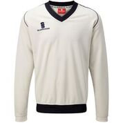 SURRIDGE LONG SLEEVED CRICKET JUMPER