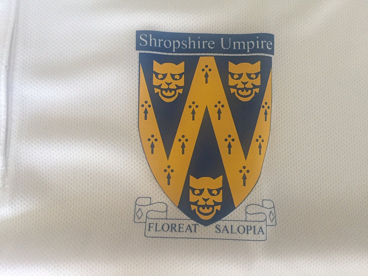 T'Shirt Male - Shrops Umpires (From 2XL upwards)