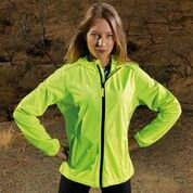 LADIES LAYERED SOFTSHELL JACKET