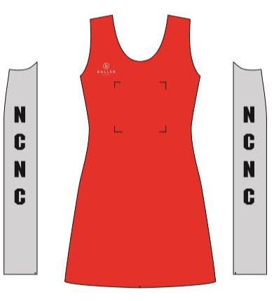 Nottingham City Netball Club Dress (adult sizes)