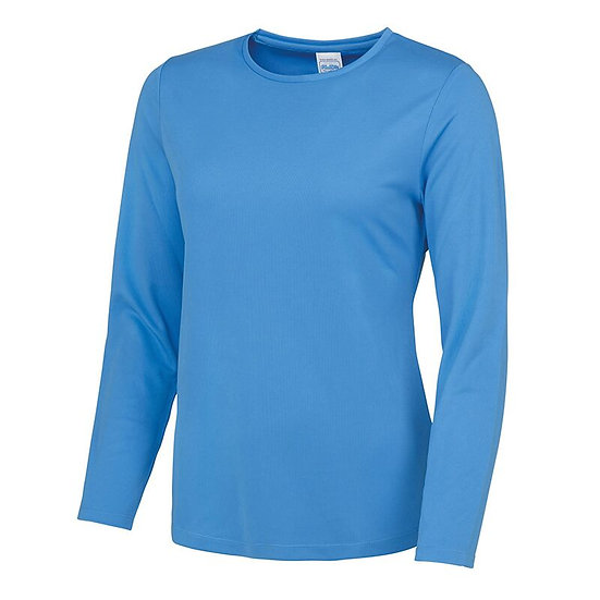 LADIES LONG SLEEVE SPORTS SHIRT
