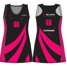 AWAY MOLL BUZZERS NETBALL DRESS -WITH NAME