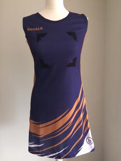 Royals dress front 10