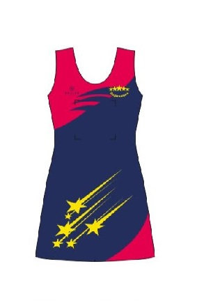 SUPREMES NETBALL DRESS - JUNIOR