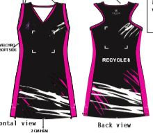 Recycles Netball Dress - Junior