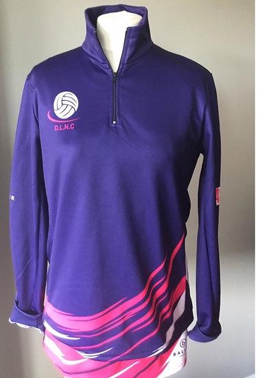 DLNC - 1/4 Zip Sweatshirt (with player name)
