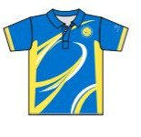 WOLVERLEY BC MEN'S POLO SHIRT - PERSONALISED