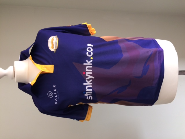 Alveley Junior training shirt front