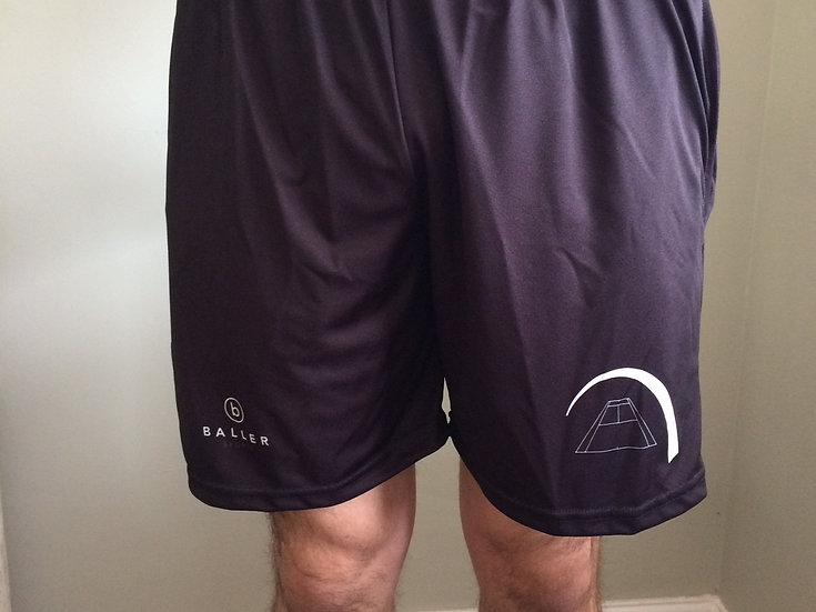 JUNIOR TSA BOYS SHORTS- BLACK