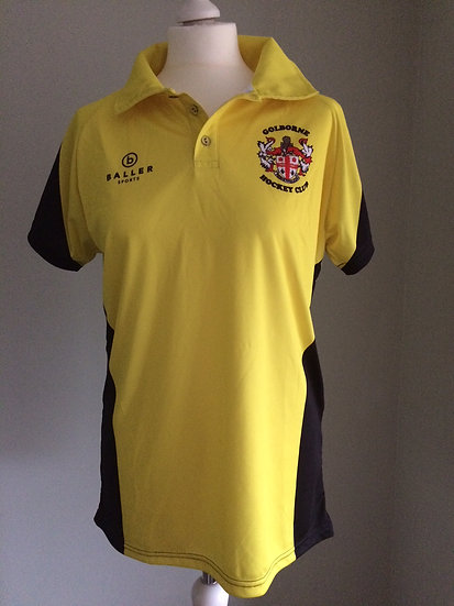 GOLBORNE HOCKEY CLUB MENS AWAY POLO SHIRT