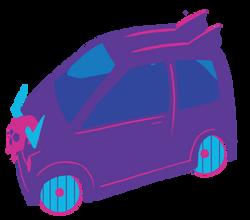 Small viking car